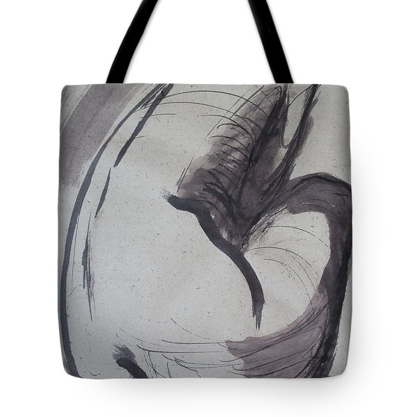Crying Heart - Nudes Gallery Tote Bag by Carmen Tyrrell