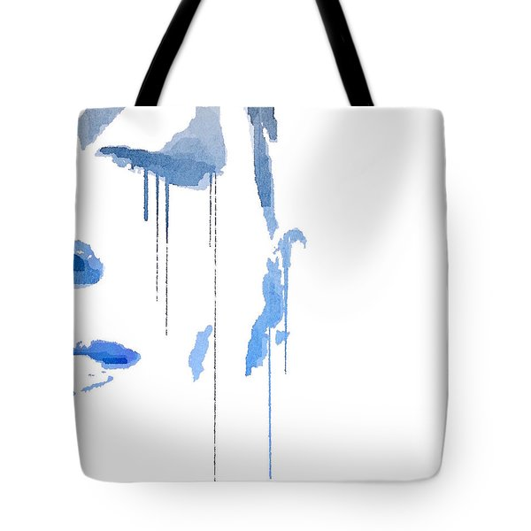 Crying In Pain Tote Bag