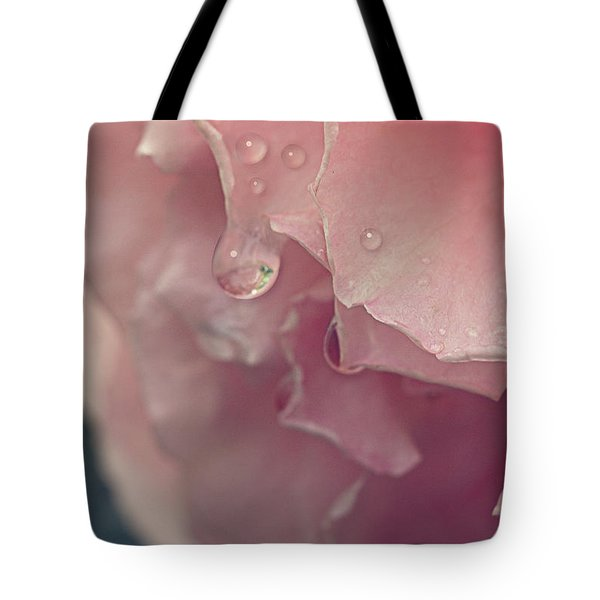 Tote Bag featuring the photograph Crying In The Rain by Linda Lees