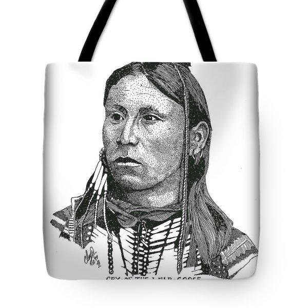 Cryofthewildgoose Tote Bag