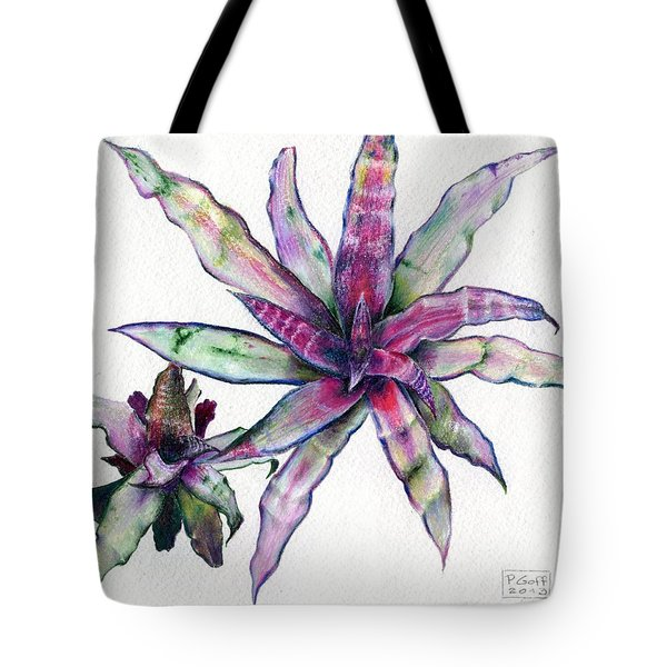 Cryptanthus Richard Lum Tote Bag