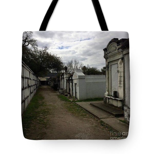 Tote Bag featuring the photograph Crypts by Kim Nelson