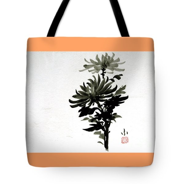 Crysanthemums Tote Bag