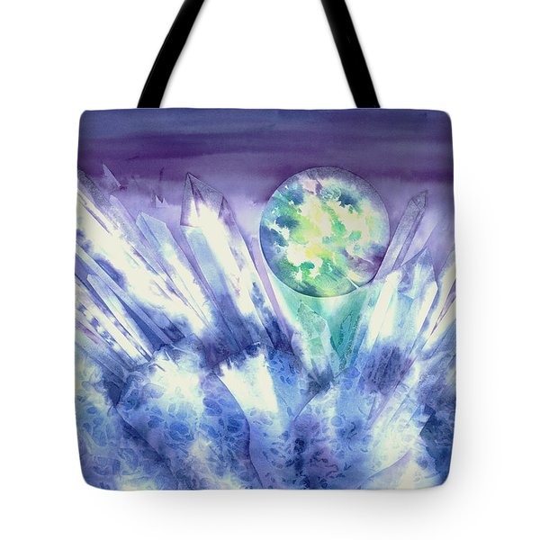 Crystal Awakening Tote Bag