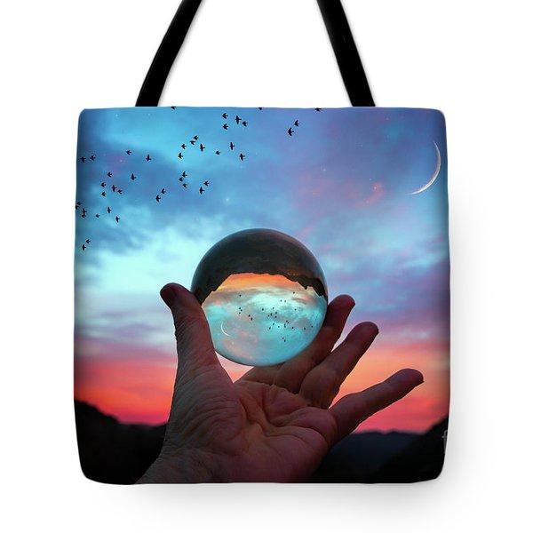 Crystal Ball Tote Bag