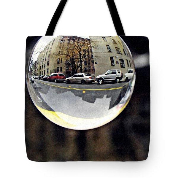 Crystal Ball Project 89 Tote Bag by Sarah Loft