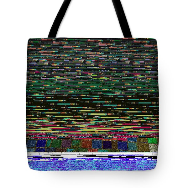 Crystal Balls And The Glitch For The Ditch Tote Bag