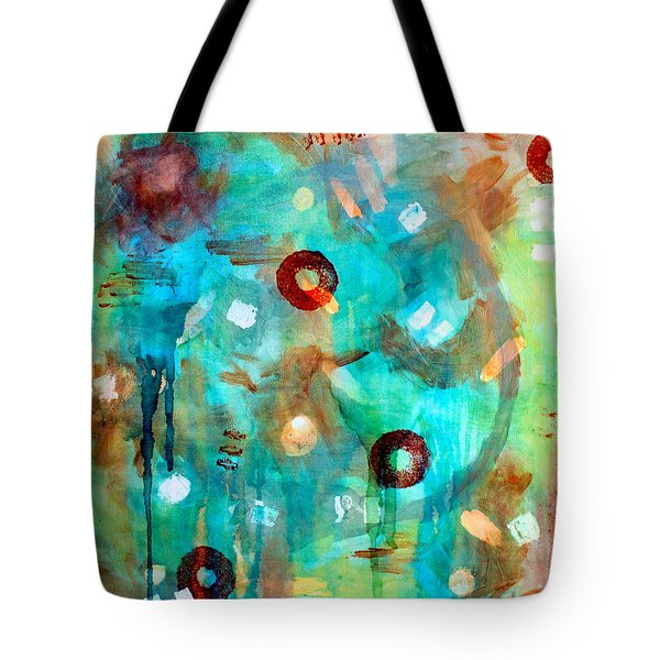Crystal Blue Persuasion Tote Bag by Shelley Graham Turner