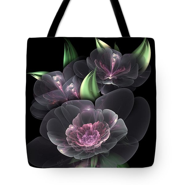 Crystal Bouquet Tote Bag