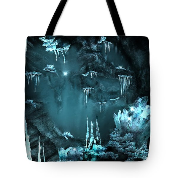 Crystal Cave Mystery Tote Bag
