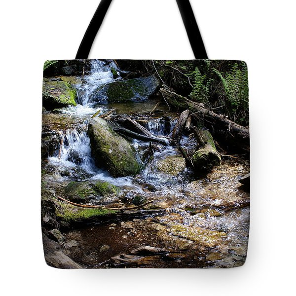 Tote Bag featuring the photograph Crystal Clear Creek by Ben Upham III