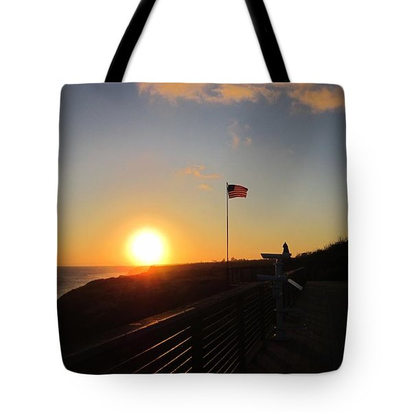 Crystal Cove 4th Of July Tote Bag