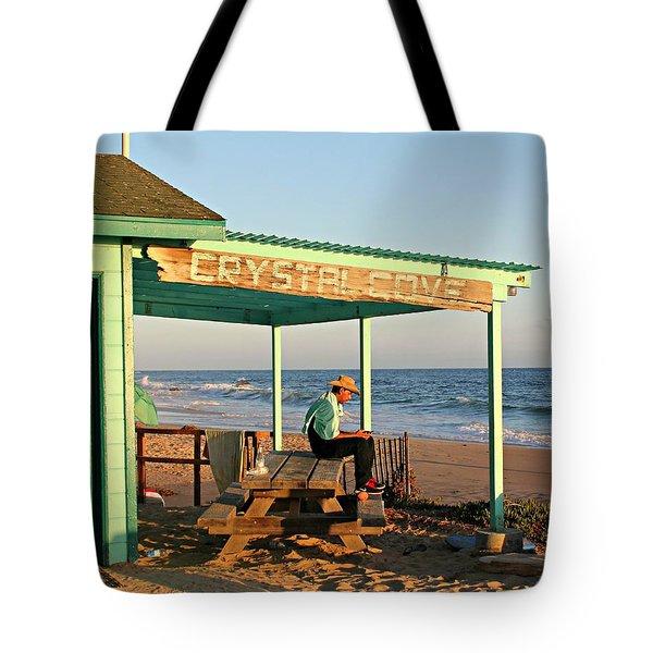 Crystal Cove Tote Bag