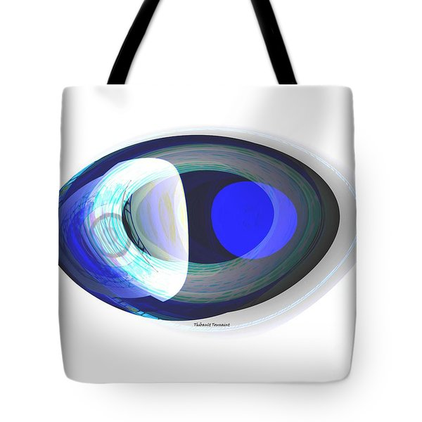 Crystal Eye Tote Bag by Thibault Toussaint