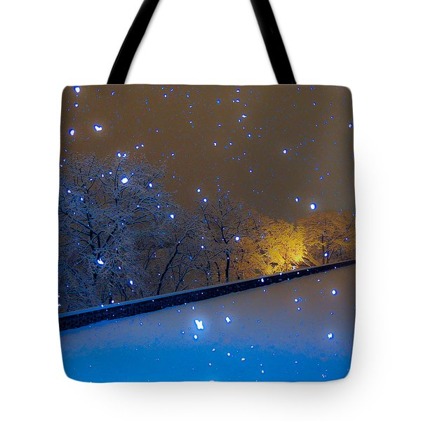 Tote Bag featuring the photograph Crystal Falls by Glenn Feron