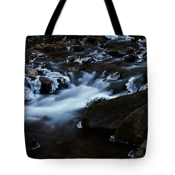 Crystal Flows In Hdr Tote Bag
