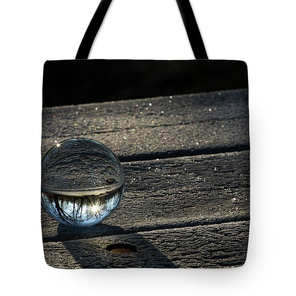 Crystal Frost Tote Bag