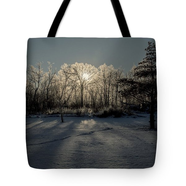 Crystal Glow Tote Bag