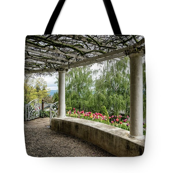 Crystal Hermitage Colonnade 5869 Tote Bag
