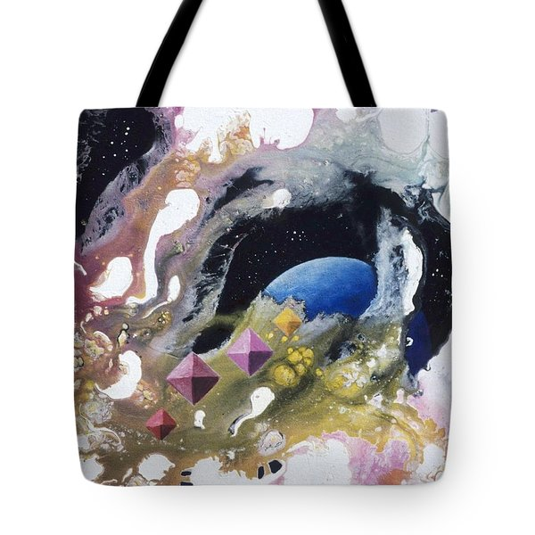 Crystal Hunters Tote Bag by Lee Pantas