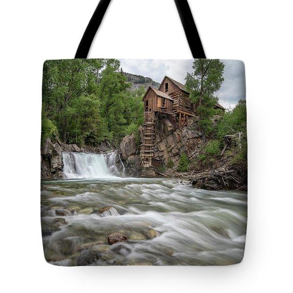 Crystal Mill Colorado 2 Tote Bag