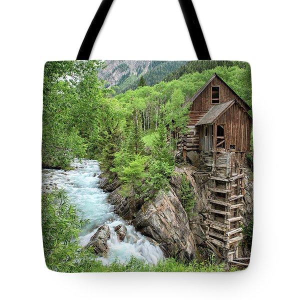 Crystal Mill Colorado 3 Tote Bag