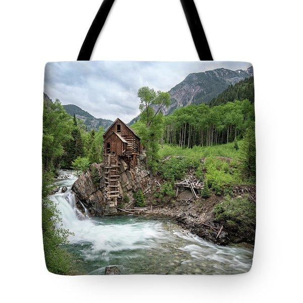 Crystal Mill Colorado 4 Tote Bag