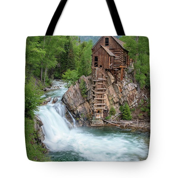 Crystal Mill Colorado Tote Bag