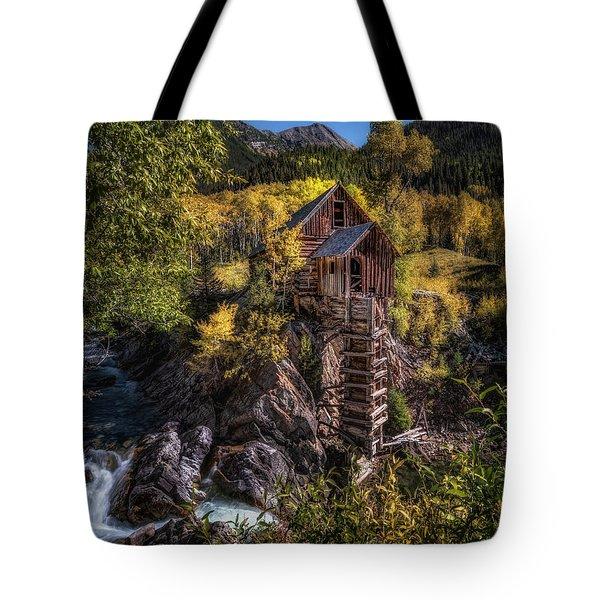 Crystal Mill Colorado Tote Bag