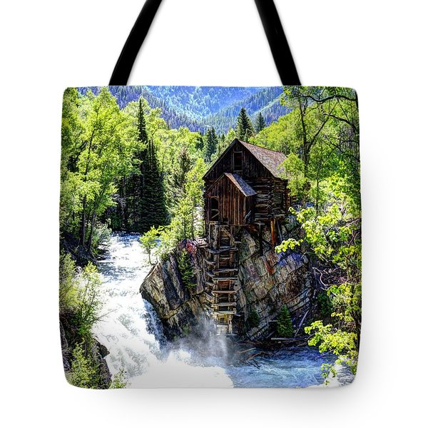 Crystal Mill Tote Bag