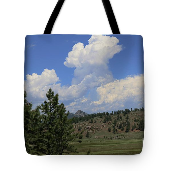 Crystal Peak Colorado Tote Bag by Jeanette French