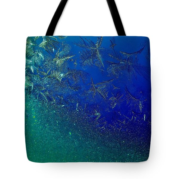 Crystal Sea Tote Bag by Danielle R T Haney