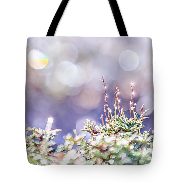 Crystal Silence Tote Bag