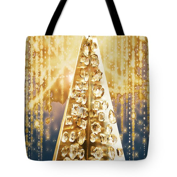 Crystal Tree Tote Bag