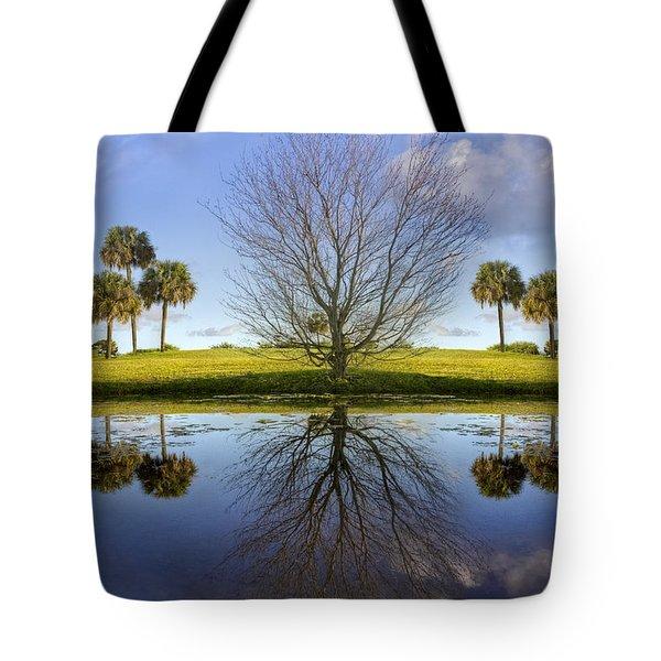 Crystal Waters Tote Bag by Debra and Dave Vanderlaan