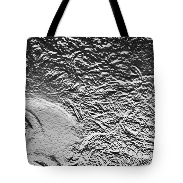 Tote Bag featuring the digital art Crystalized by Lyric Lucas