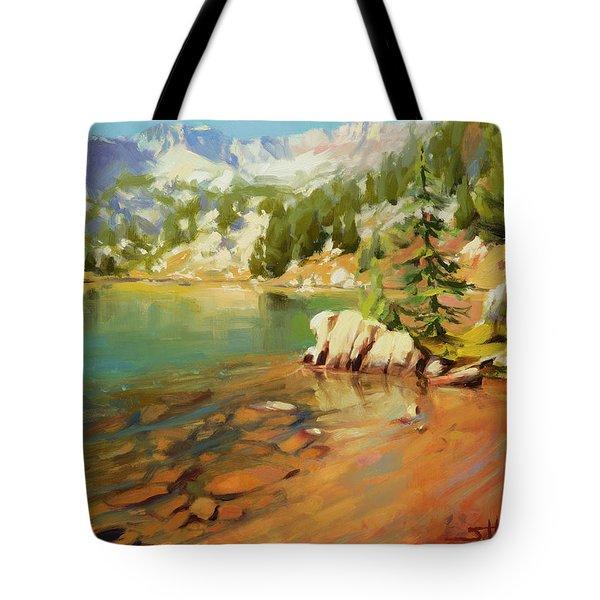 Crystalline Waters Tote Bag