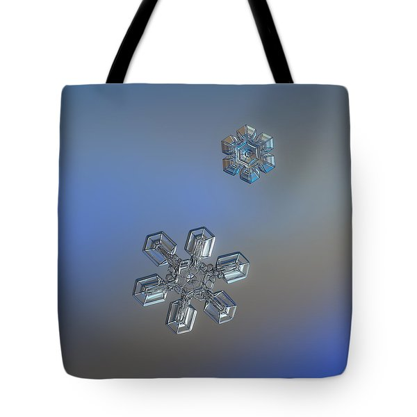 Tote Bag featuring the photograph Crystals Of Day by Alexey Kljatov
