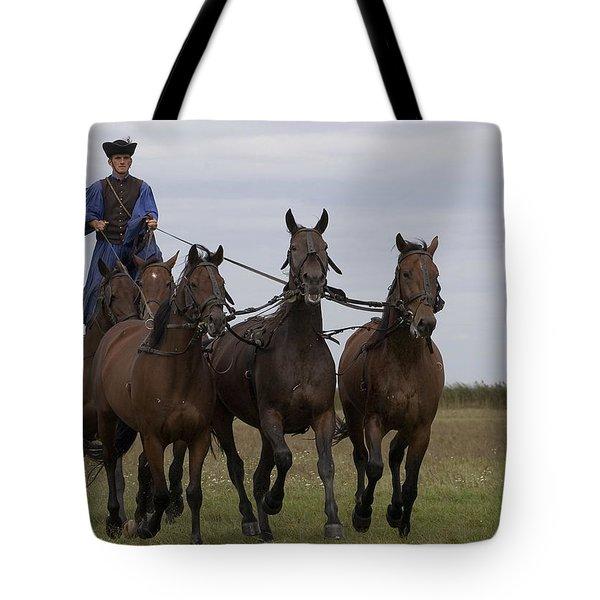 Csiko Tote Bag by Michael Mogensen