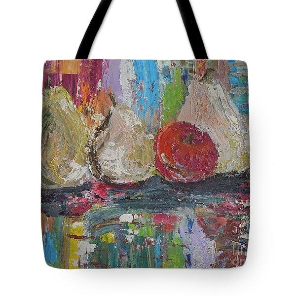 Cuatro Tote Bag by Judith Espinoza