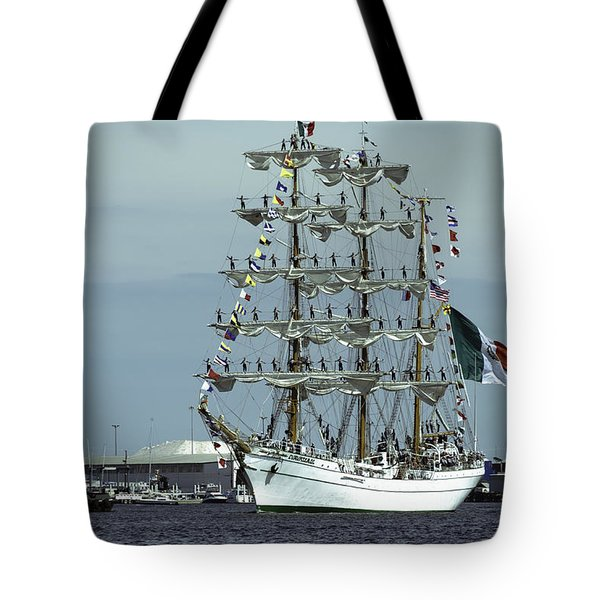 Cuauhtemoc And Mark Moran Tote Bag by Steven Richman