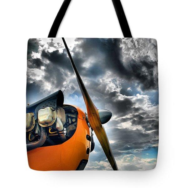 Cub Prop Tote Bag