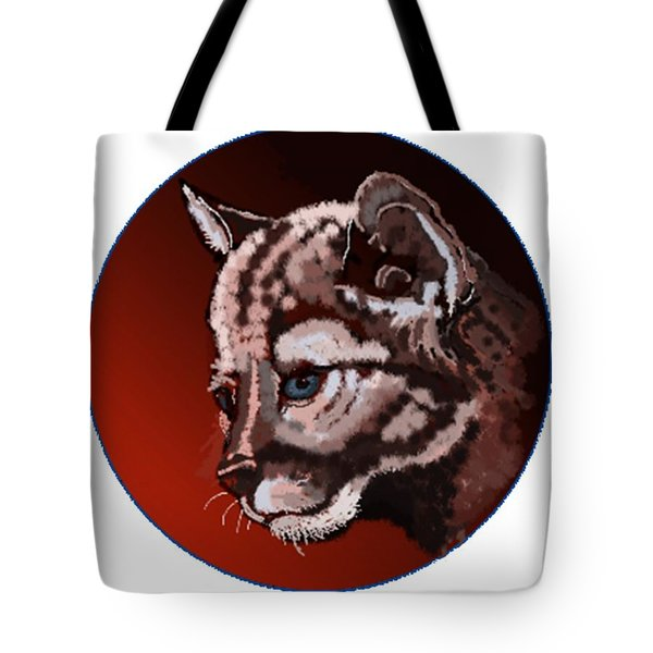 Cub Tote Bag by Terry Frederick