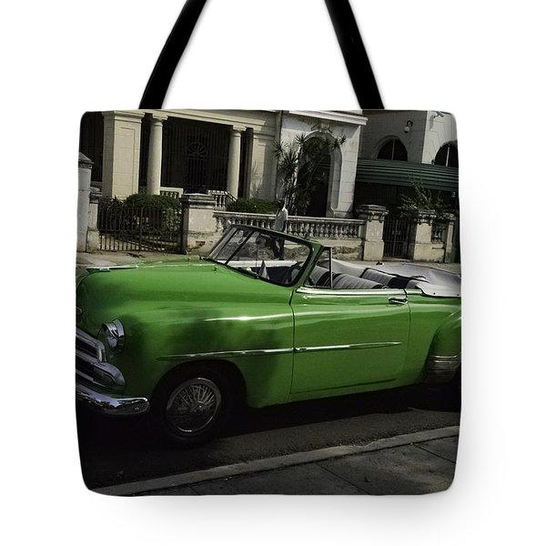 Cuba Car 3 Tote Bag