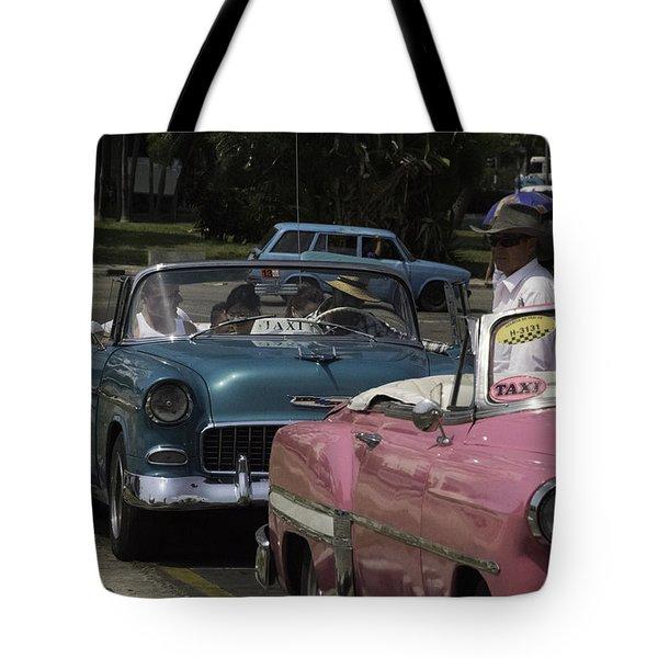 Cuba Car 4 Tote Bag
