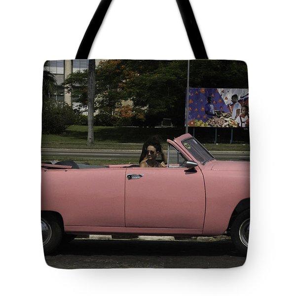 Cuba Car 5 Tote Bag