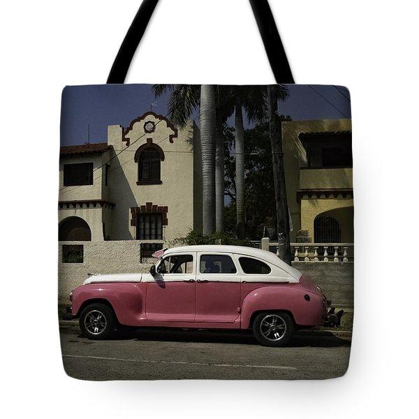 Cuba Car 9 Tote Bag
