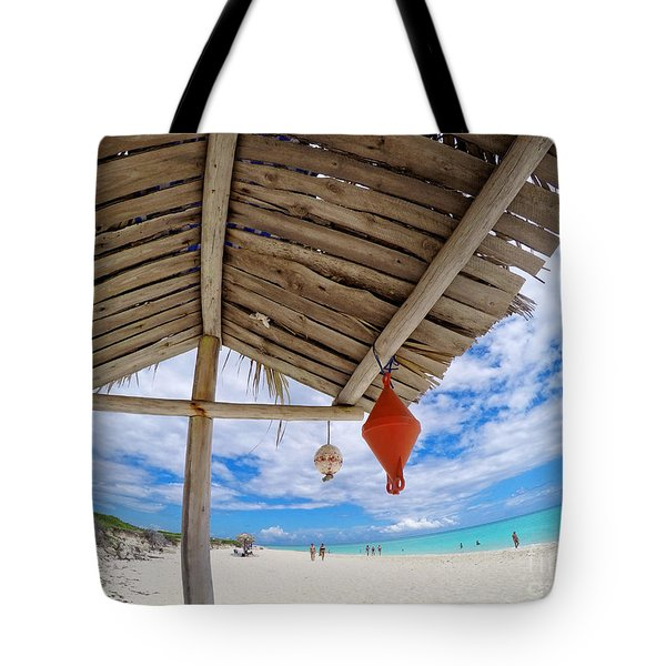 Cuba Cayo Santa Maria Beach Tote Bag by Charline Xia