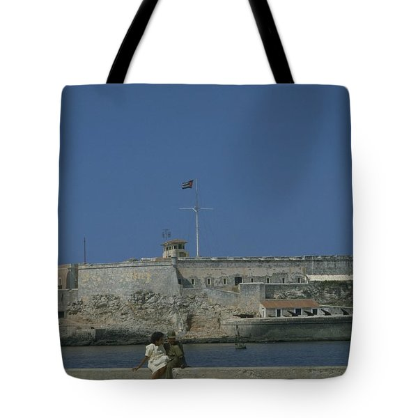 Cuba In The Time Of Castro Tote Bag