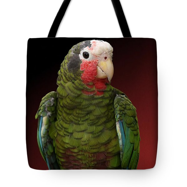 Cuban Amazon Parrot Tote Bag